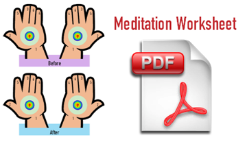 Daily Meditation Worksheet - sahaja meditation pdf