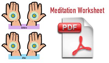 Daily Meditation Worksheet - sahaja meditation pdf