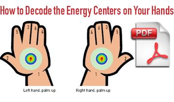 download sahaja meditation handout on decoding energy centers in your hands